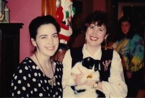 Cynthia Hammond and Lisa Parker, c1993