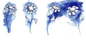 flower sketches cropped
