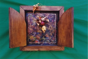 hinged floralscape c1993