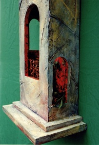 self portrait with tower detail c1993