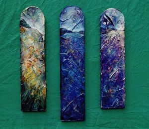three more vertical landscapes c1993